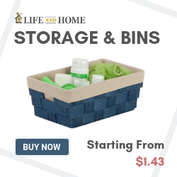 Life and Home Storage and Bin items